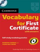 Cambridge Vocabulary for First Certificate with answers z plyta CD