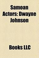 Samoan Actors: Dwayne Johnson