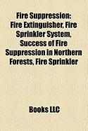 Fire Suppression: Fire Extinguisher