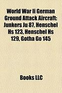 World War II German Ground Attack Aircraft: Junkers Ju 87