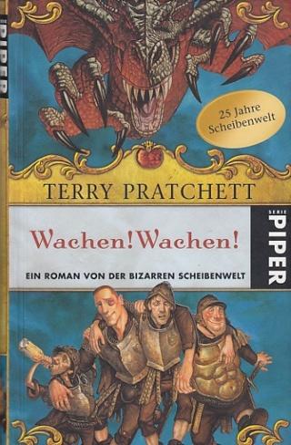 Wachen ! Wachen ! Ein Roman von der bizarren Scheibenwelt. Deutsch von Andreas Brandhorst.