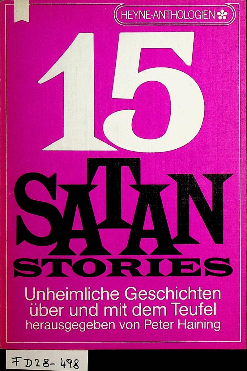 Fünfzehn Satan- Stories.