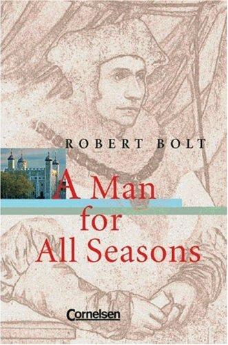 Cornelsen Senior English Library - Fiction: Ab 11. Schuljahr - A Man for All Seasons: Textband mit Annotationen - Küppers, Ursula, Ingrid Ross and Robert Bolt