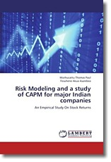 Risk Modeling and a study of CAPM for major Indian companies - Paul, Muthucattu Thomas / Asarebea, Fosuhene Akua