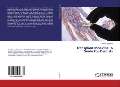 Transplant Medicine: A Guide For Dentists - Aparna Aggarwal