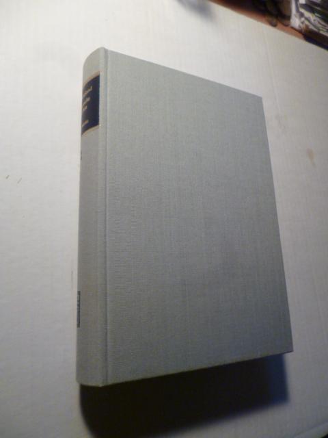 Prosaische Schriften I (1773-1783), Herausgegeben von W. Kurrelmeyer.