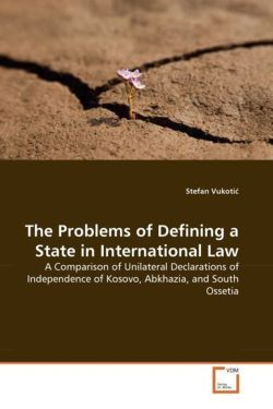 The Problems of Defining a State in International Law - Vukotic, Stefan