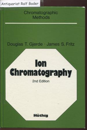 Ion Chromatography (Chromatographic methods)