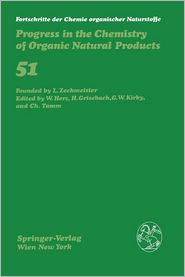 Progress in the Chemistry of Organic Natural Products (Fortschritte der Chemie organischer Naturstoffe   Progress in the Chemistry of Organic Natural Products (closed))