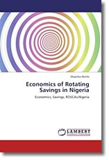 Economics of Rotating Savings in Nigeria - Akinlo, Olayinka