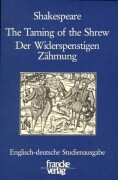 Der Widerspenstigen Zähmung / The Taming of the Shrew.