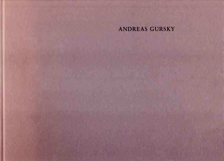 Kunsthalle Zürich, 28.3. - 24.5.1992. - Gursky, Andreas