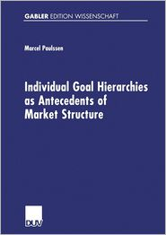 Individual Goal Hierarchies as Antecdents of Market Structure.