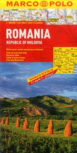 Romania Marco Polo Map (Marco Polo Maps) - Marco Polo Travel