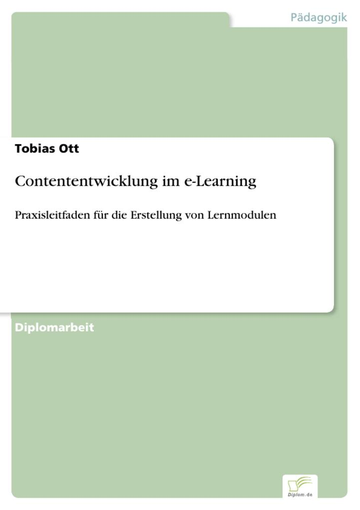 Contententwicklung im e-Learning