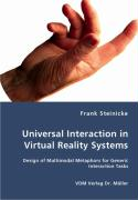 Universal Interaction in Virtual Reality Systems - Steinicke, Frank
