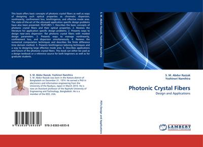 Photonic Crystal Fibers : Design and Applications - S. M. Abdur Razzak