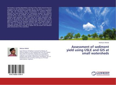 Assessment of sediment yield using USLE and GIS at small watersheds - Mohsan Mehdi