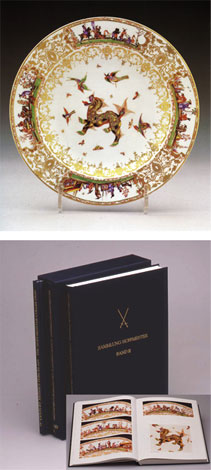 Meissner Porzellan des 18. Jahrhunderts: Bd I und II. Sammlung Hoffmeister