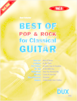 Best Of Pop & Rock for Classical Guitar 5
