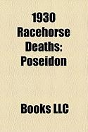 1930 Racehorse Deaths: Poseidon