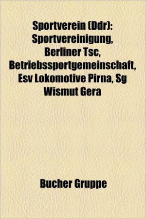 Sportverein (Ddr) - B Cher Gruppe (Editor)