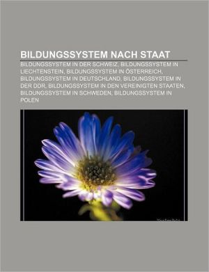 Bildungssystem Nach Staat - B Cher Gruppe (Editor)