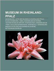 Museum In Rheinland-Pfalz - B Cher Gruppe (Editor)