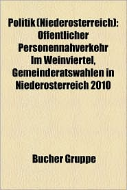 Politik (Nieder Sterreich) - B Cher Gruppe (Editor)