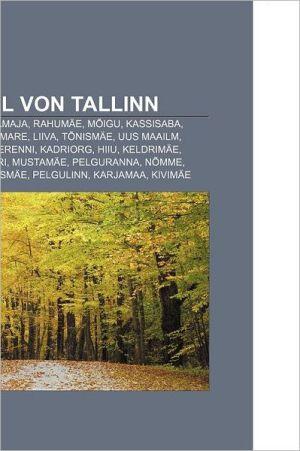 Ortsteil Von Tallinn - B Cher Gruppe (Editor)
