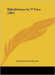 Bijbellektuur In 'T Fries (1907) - Foeke Buitenrust Hettema