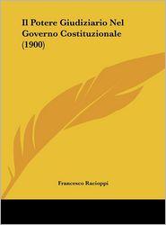 Il Potere Giudiziario Nel Governo Costituzionale (1900)