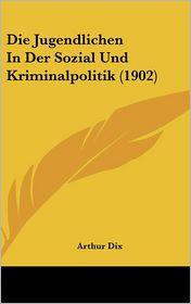 Die Jugendlichen In Der Sozial Und Kriminalpolitik (1902) - Arthur Dix