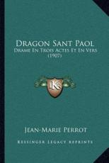 Dragon Sant Paol - Jean-Marie Perrot (author)