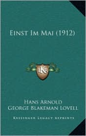 Einst Im Mai (1912)