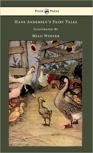 Hans Andersen's Fairy Tales Illustrated In Black And White By Milo Winter Hans Christian Andersen Author