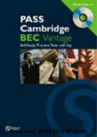Gebr. - Pass Cambridge BEC Vantage Practice Test Book: Vantage Self-study Practice Tests