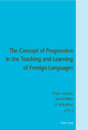 The Concept of Progression in the Teaching and Learning of Foreign Languages