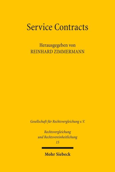 Service Contracts - Mohr Siebeck