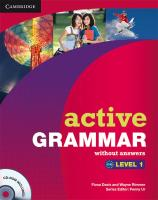 Active Grammar. Level 1: Edition without answers and CD-ROM