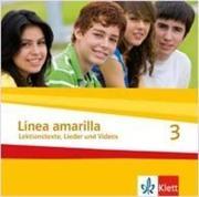 Linea amarilla 3. Schüler Audio-CD
