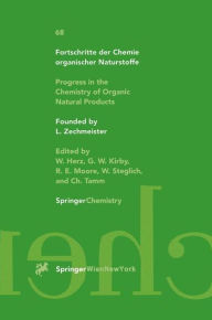 Progress in the Chemistry of Organic Natural Products: Fortschritte Der Chemie Organischer Naturstoffe - G.W. Gribble