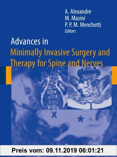 Gebr. - Advances in Minimally Invasive Surgery and Therapy for Spine and Nerves (Acta Neurochirurgica Supplement)