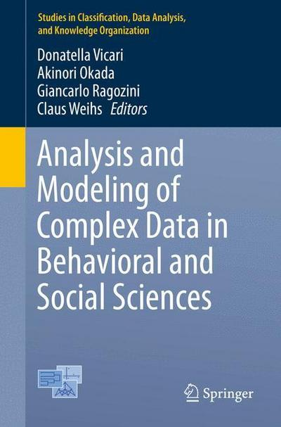 Analysis and Modeling of Complex Data in Behavioral and Social Sciences - Donatella Vicari
