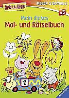 Spiel & Spaß - Malen & Rätseln: Mein dickes Mal- und Rätselbuch