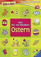 Mein Mal- und Rätselbuch Ostern