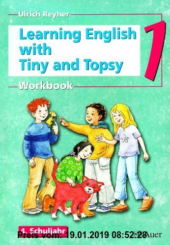 Gebr. - Learning English with Tiny and Topsy: Workbook 4. Schuljahr