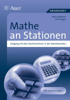 Mathe an Stationen