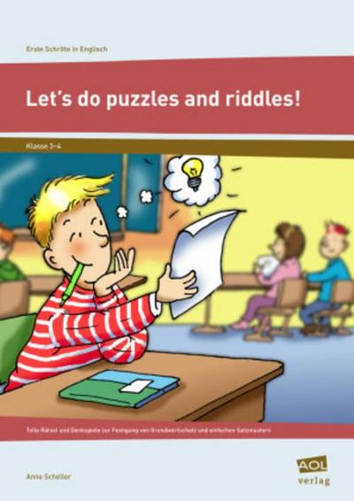 Let's do puzzles and riddles! - Anne Scheller