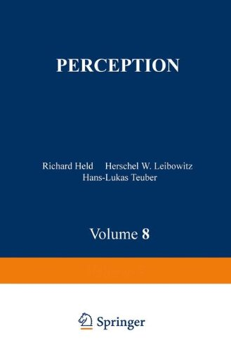 Perception (Handbook of Sensory Physiology Volume 8) - Held, R., H.W. Leibowitz and H.L. Teubner